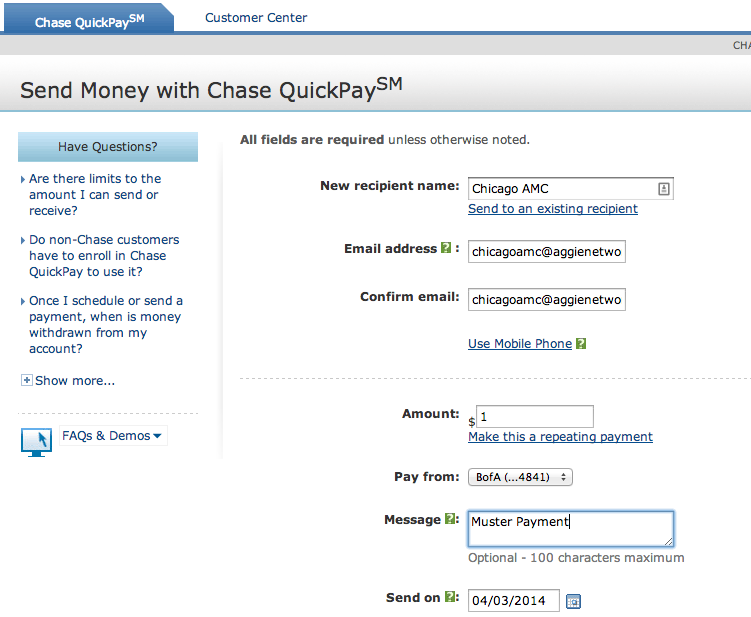 Chase quickpay com : FOREX Trading